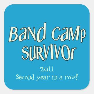 Band Camp Survivor Sticker