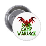 Band Camp Warlock Buttons