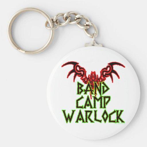 Band Camp Warlock Keychains