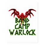 Band Camp Warlock Postcard