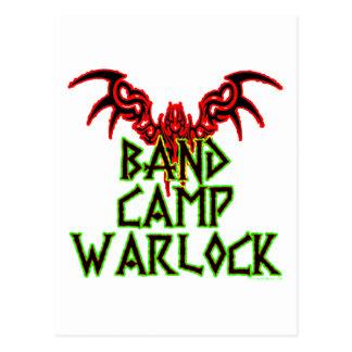Band Camp Warlock Post Card