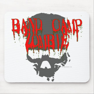 Band Camp Zombie Mouse Pad
