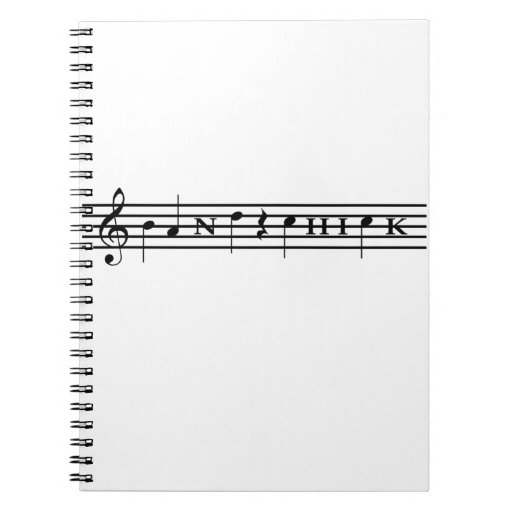 Band Chick Note Book