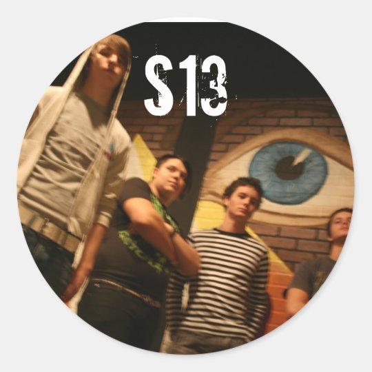 Band Circle Sticker