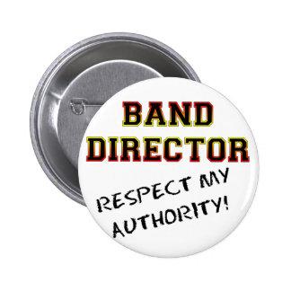 Band Director 2 Inch Round Button