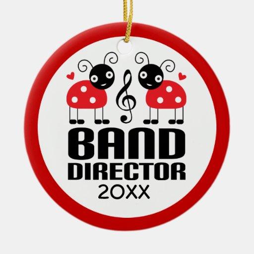 Band director christmas ornament zazzle