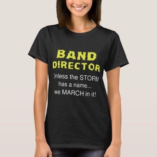 band director dj t-shirts