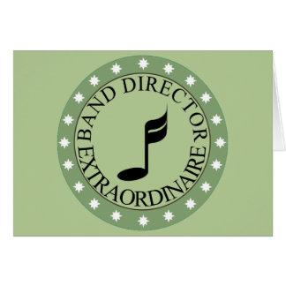 Band Director Gift Card