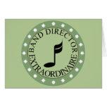 Band Director Gift Greeting Card