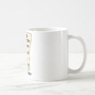 Band Director List Of Rules Coffee Mug