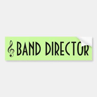 Band Director Music Bumper Sticker Gift