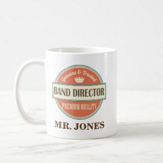Band Director Personalized Office Mug Gift