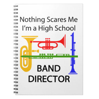 Band Director Spiral Notebook