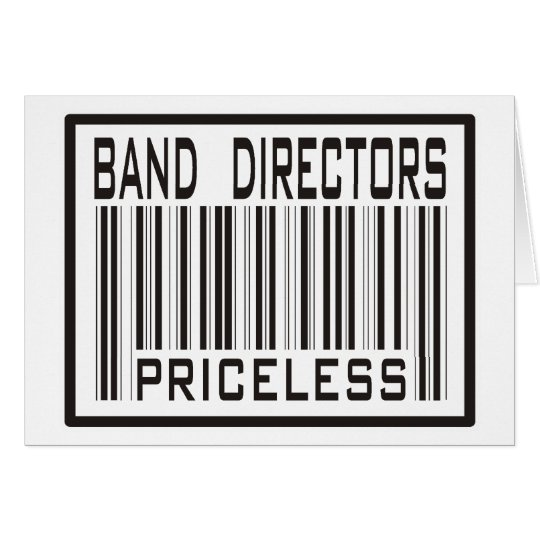Band Directors Priceless Card