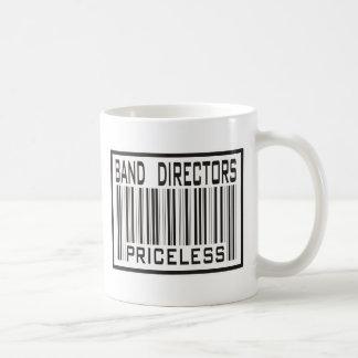 Band Directors Priceless Classic White Coffee Mug