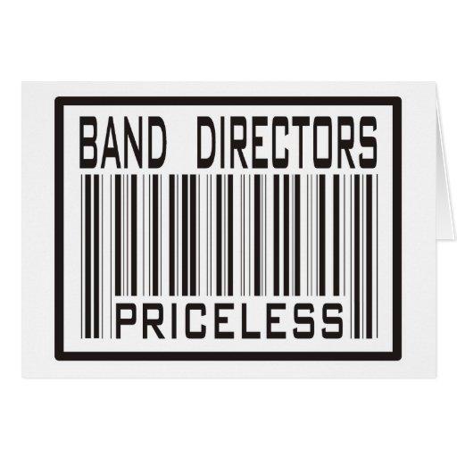 Band Directors Priceless Greeting Card