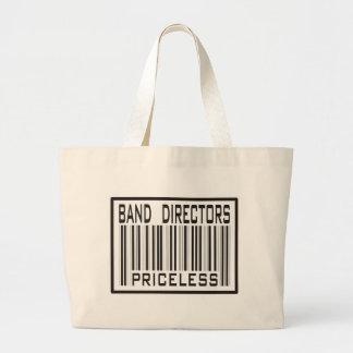 Band Directors Priceless Jumbo Tote Bag