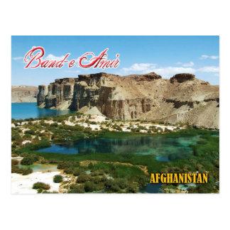 Band-e Amir, Afghanistan Postcards