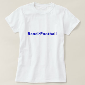 Band > Football T-Shirt