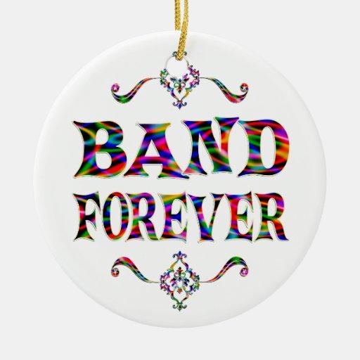 Band Forever Ceramic Ornament