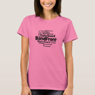 Band Front Word Cloud T-Shirt