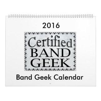 Band Geek 2016 Calendar