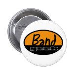 Band Geek 2 Inch Round Button