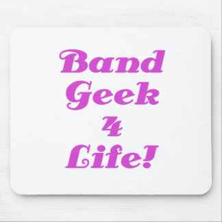 Band Geek 4 Life Mouse Pad