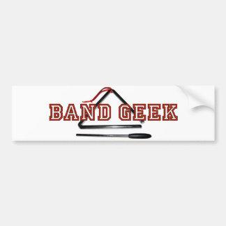 Band Geek bumper sticker Car Bumper Sticker