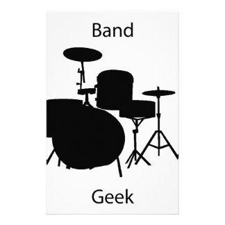 Band geek custom stationery
