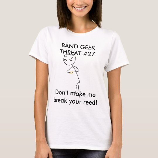 Band Geek Threat #27 T-Shirt
