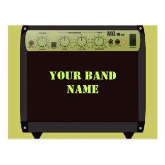 Band Gig Postcard