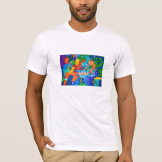 """""""Band Groove"""" Tee (Large print) by R.A.Brown©"""