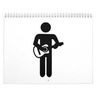 Band guitarist calendar