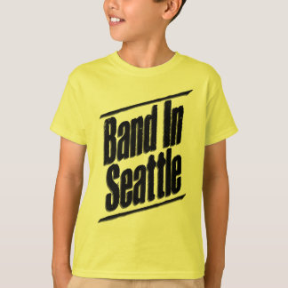 Band In Seattle Logo T-Shirt