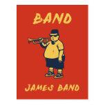 Band, James Post Card
