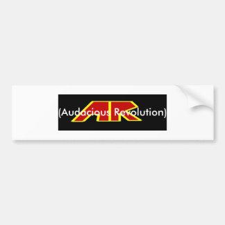 Band Logo Banner, (Audacious Revolution) Bumper Sticker