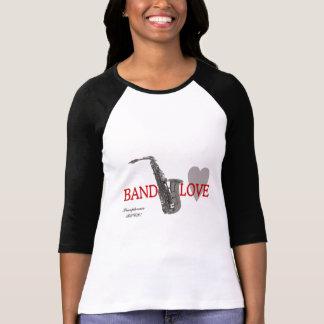 Band Love/ Saxophone T-Shirt