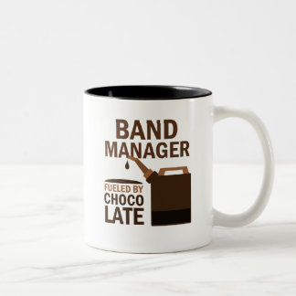 Band Manager Gift (Funny) Two-Tone Coffee Mug