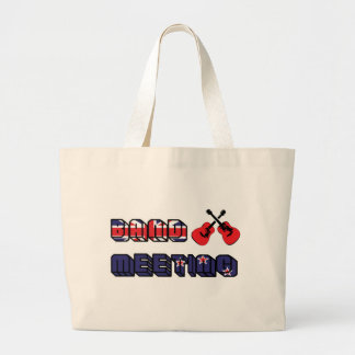 Band Meeting Murray Canvas Bags