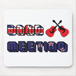 Band Meeting Murray Mouse Pad