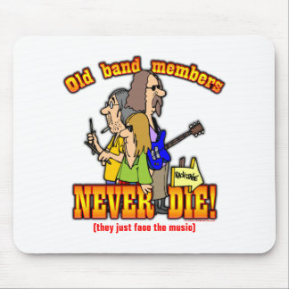 Band Members Mouse Pad