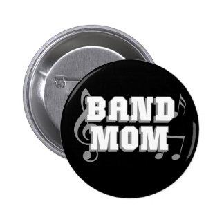 Band Mom 2 Inch Round Button