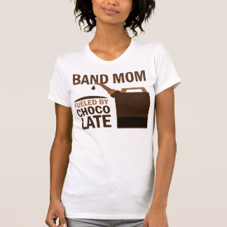 Band Mom (Funny) Chocolate T-Shirt
