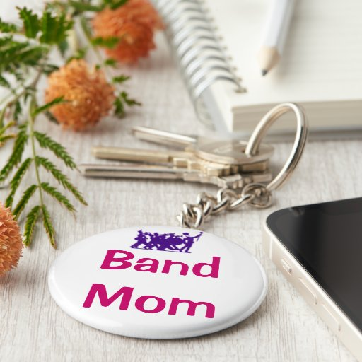 Band Mom Keychain