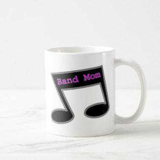 Band Mom Music Note Coffee Mug