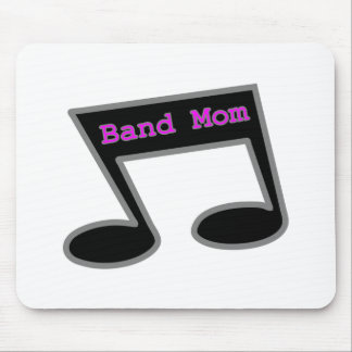 Band Mom Music Note Mouse Pad