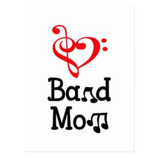 BAND MOM POST CARD