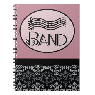 Band Music Notebook