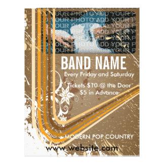 Band Name Music Flyer 3